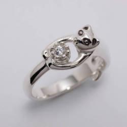 猫の贈り物 ダイヤモンド
