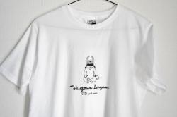 武将猫 イエニャス Tシャツ